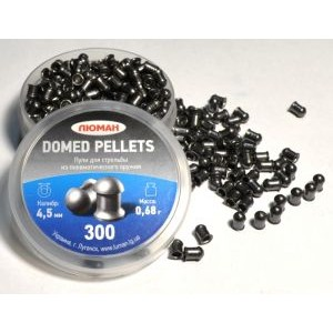 "Пули ""Люман"" Domed pellets, 0,68 г. по 300 шт."
