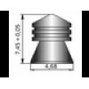 """Пули ШМЕЛЬ """"Повышенной точности"""" 0,72g 4,5мм  400 шт."""